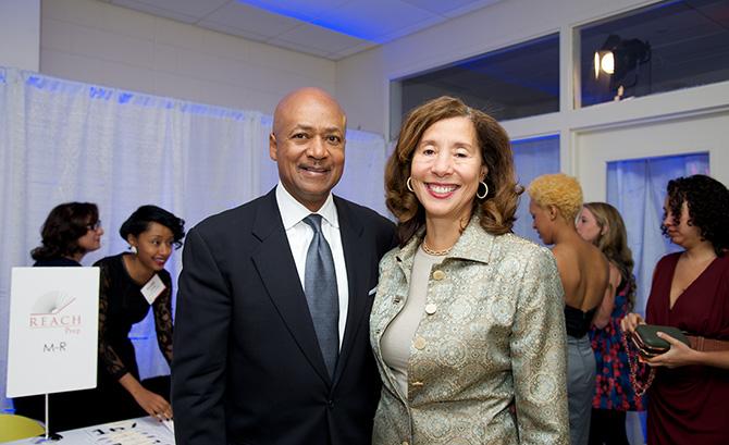 Dr. Laurence Morse and Pamela McKoin