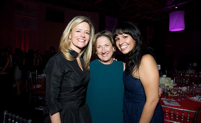 Trish Davies, Peggy Sarkela and Vanessa Rios