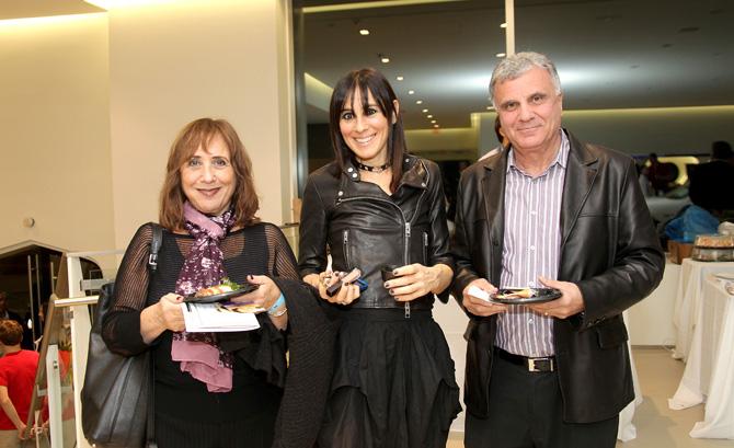 Ellen Samra, Carrie Bruttner and Kamil Samra