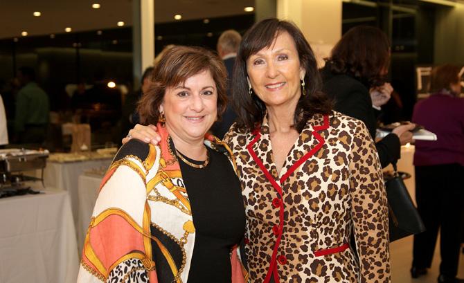 Andrea Mallozzi and Liz Norfleet