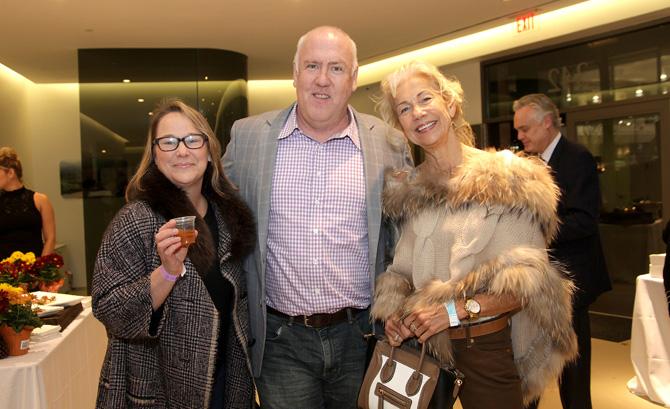 Karen McKenna, Tom Monahan and Anne Friday