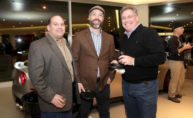 Frank Lucisano, Christian Calemmo and Dean DelTosta