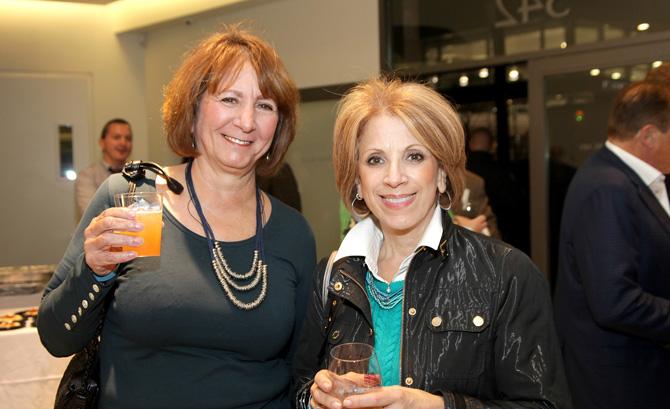 Karen Cardilli and Flo Milano