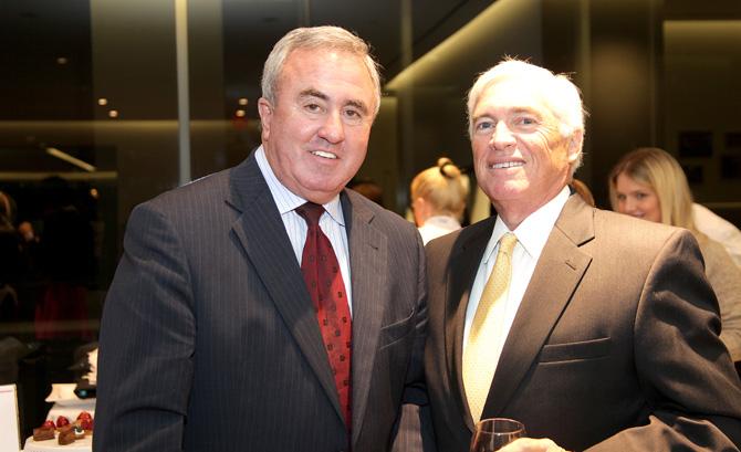 Mickey Sherman and Jim Bassett