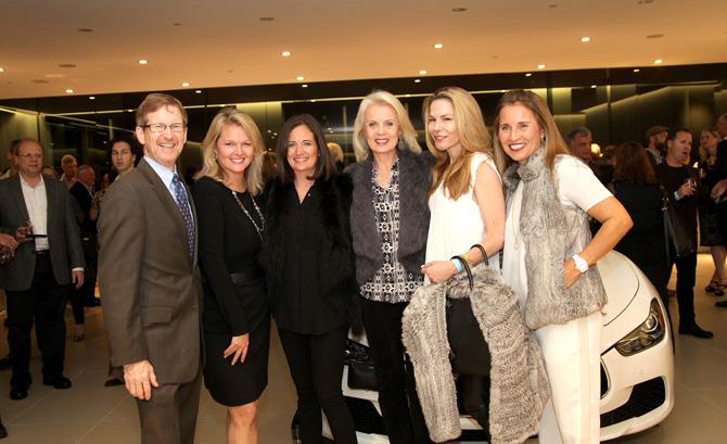 Jonathan Moffly, Trish Kirsch, Jen Danzi, Gabriella Mays, Lynne Scalo and Jennifer Petersen