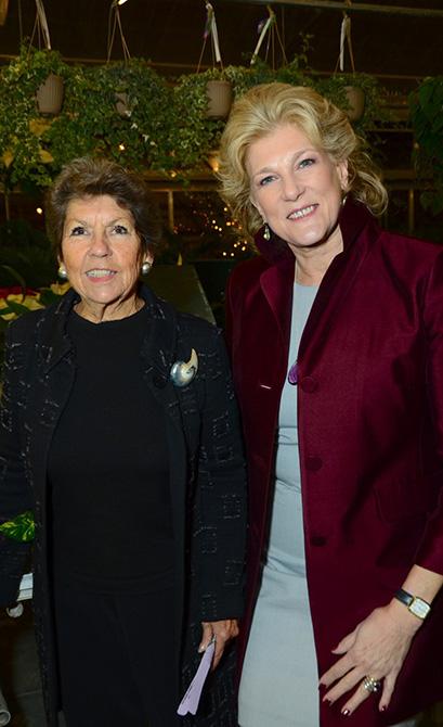 Sue Baker and Leslie Lee