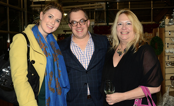 Julia Banks, Alex Meier Tomkins and Theresa Rogers Matthews
