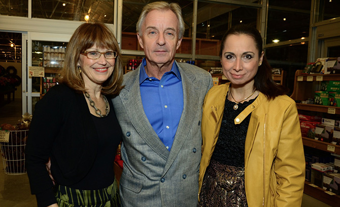 Patty Sechi with Roger and Roxana Bowgen