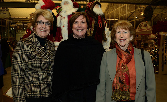 JoAnn Messina, Tina Lindstedt and Donna Moffly