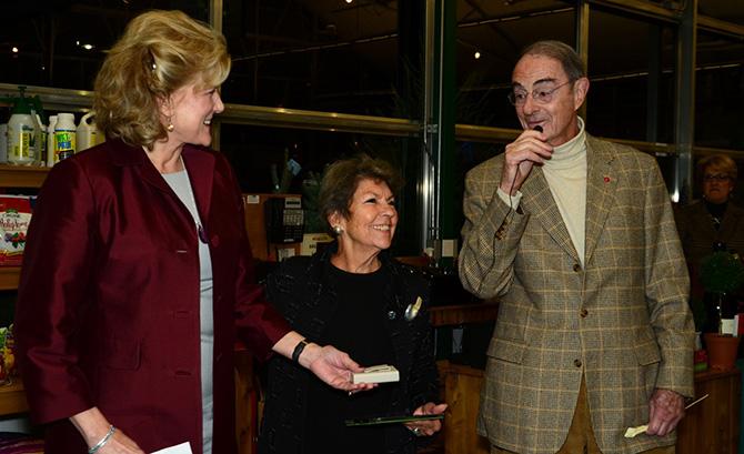 Leslie Lee, Sue Baker and Peter Malkin