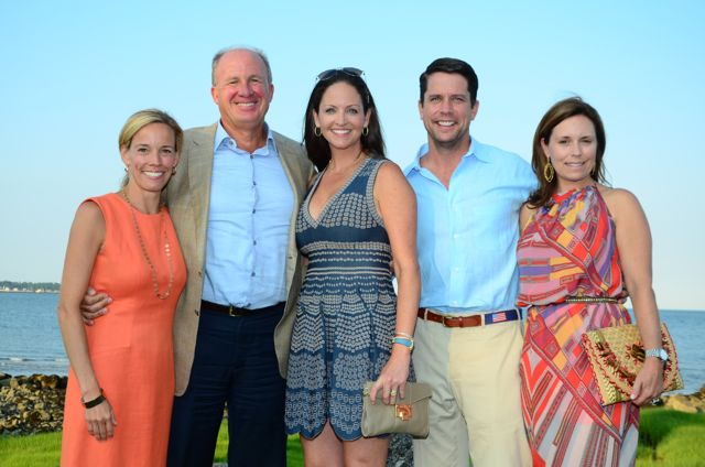 Brook Bremer, Jim and Kate Clark, and Dan and Tammy O'Sullivan
