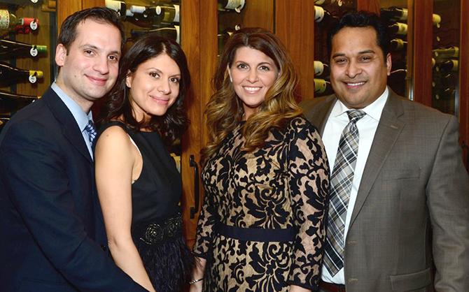 Dimintri and Janet Delos, Jenni and Eric Salinas