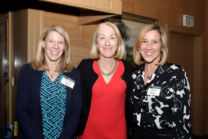 Carolyn Miles, Anne Mulcahy, Susan Ridge
