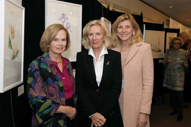 Pam Clark, Nicky Johnson, Carol Browne