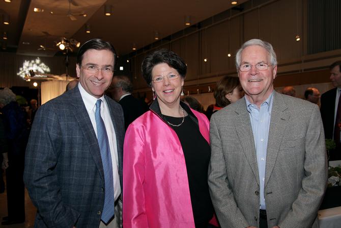 Ken Mifflin, Amanda and Bob Davis