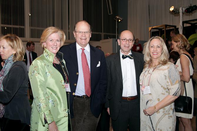 Mary and Sandy Laughlin, Peter and Diana Samponaro