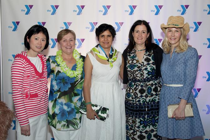Cynthia Chang, Sandy Waters, Shonu Pande, Cathy DeSilva, Karin Hodgson
