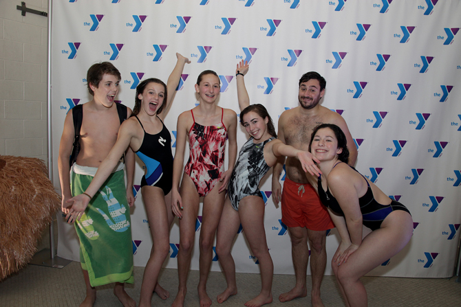 Greenwich YMCA Swim Team: James Hopper, Katie Laverty, Kate Russack, Carolina Sculti, Dylan Korn, Shannon Daine