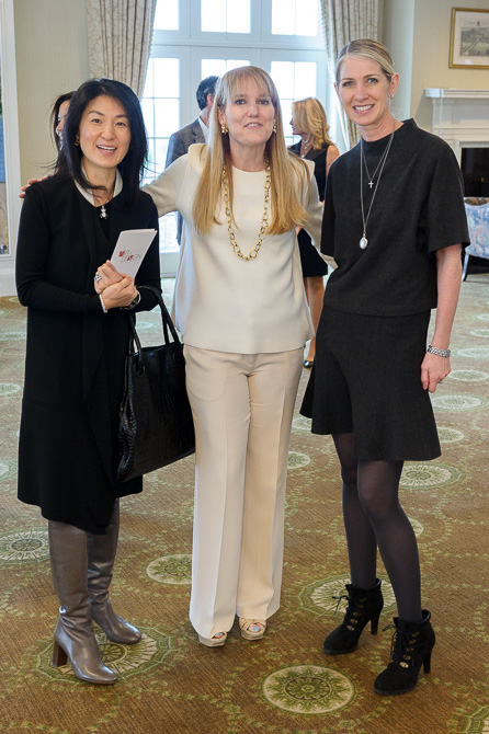 Jeena Chung, Jane Larkworthy, Heather Picchione
