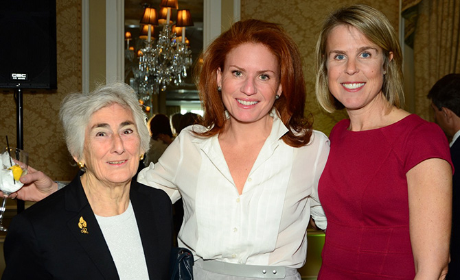 Arlene Lomazzo, Jessica Mindich, Mary Scott Himes