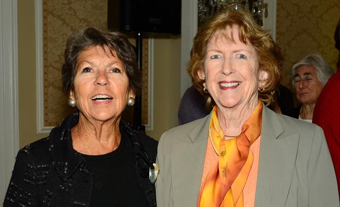 Sue Baker, Donna Moffly