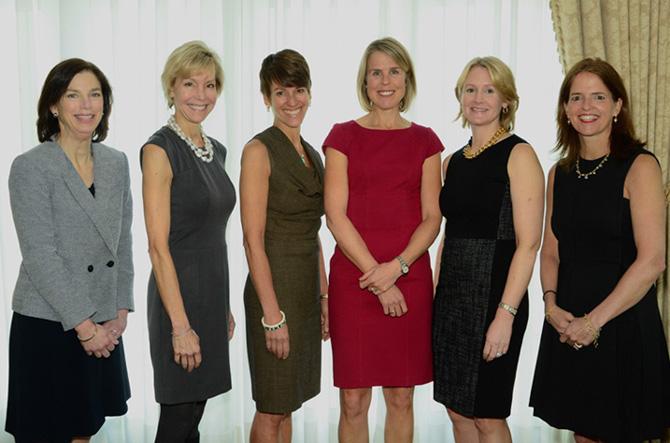 Lindsay Culbertson, Leslie Bhutani, Nicole Heath, Mary Scott HimesSophie Dowling, Amy Ford Keohane
