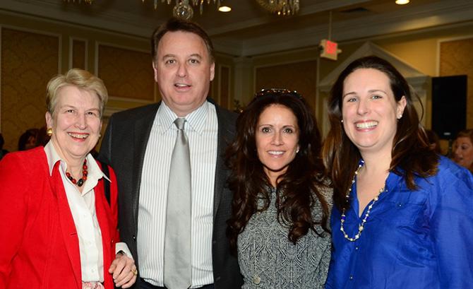 Sue McCauley, John Booth, Margaret Schaftel, Rachel Powers