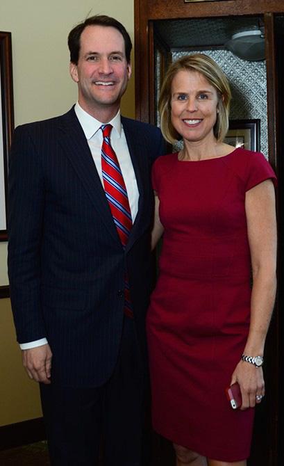 Rep. Jim Himes, Mary Scott Himes