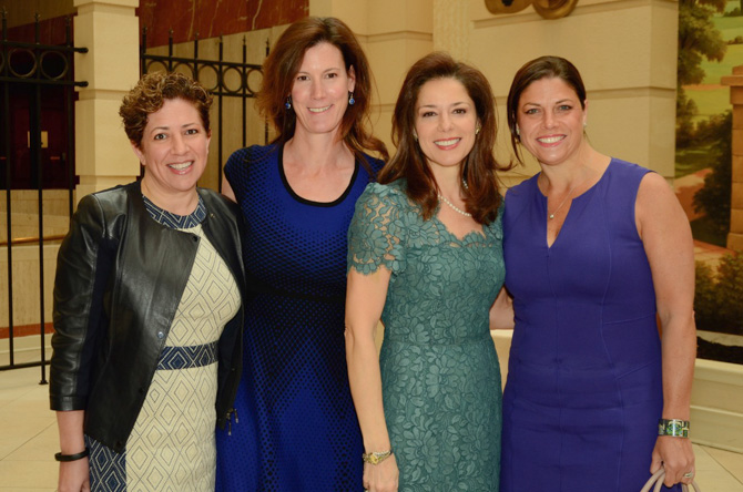 Sue Rogers, Liz Boutry, Giovanna Miller, Alessandra Messineo Long