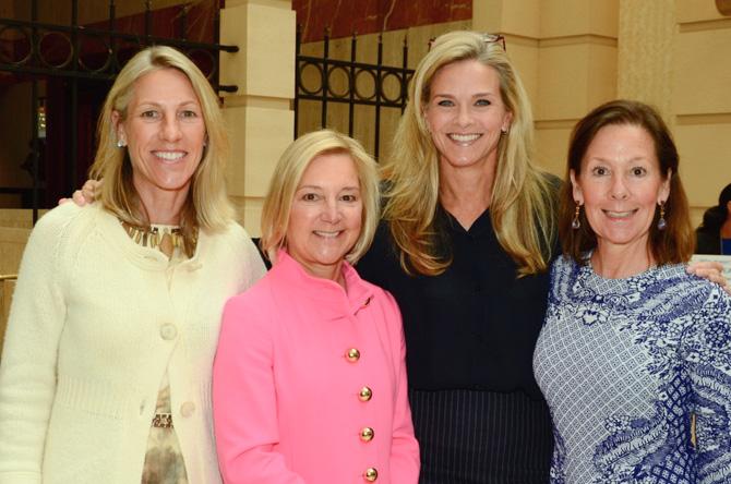 Leslie Petrick, Carole Purse, Julie Church, Linda Munger
