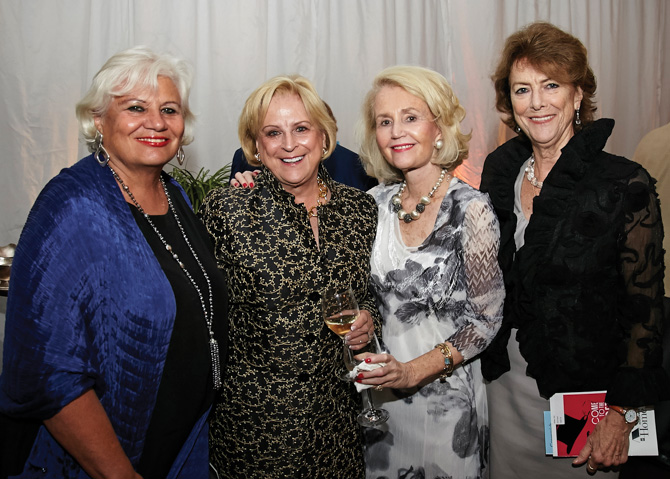 Barbara Lusk, Marilyn Bundy, Beverly Keyes, Jane Ryan