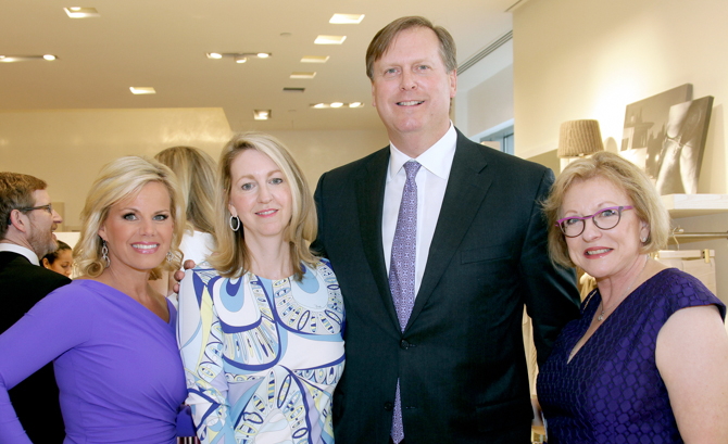 Gretchen Carlson, Alice Rusk, Rob Rusk, Sharon Parker - <em>Photo: Kristin Burke Hynes</em>