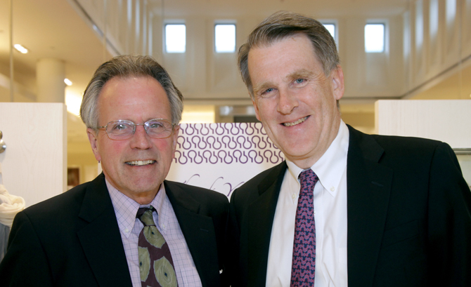 Ted Thaxter, Mark Pruner - <em>Photo: Kristin Burke Hynes</em>