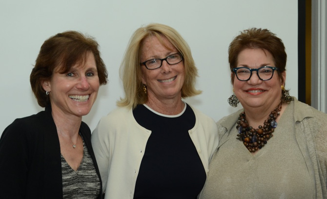 Elaine Harris, Patrice Comey and Pat Russo