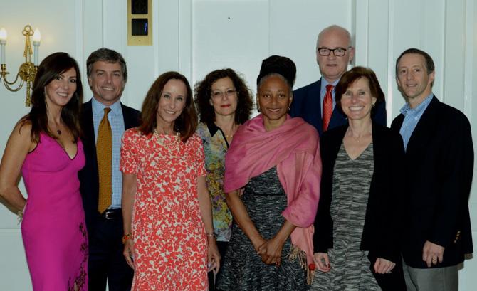 Board of Child Advocates of CT - Nancy Rebold, Brad Purcell, Georgiana Platt, Amy Kamisher, Terri Knight, Scott Hazard, Elaine Harris, John Liebergall