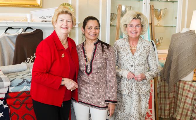 Leah Marmon, Chitra Shanbhogue, Ann Hagman