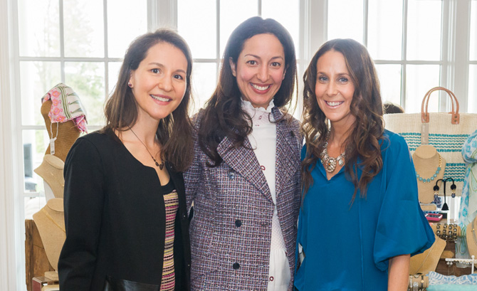 Alexandra Hochman, Rita Magasiner, Hillary Grogan