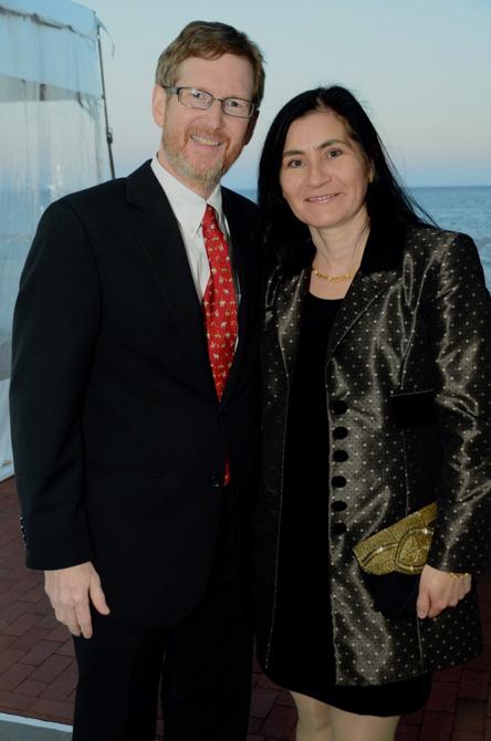 Jonathan and Elena Moffly