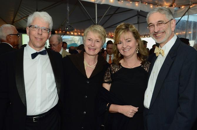Jeff and Julia Carter, David B. Hill, Laura Petiford