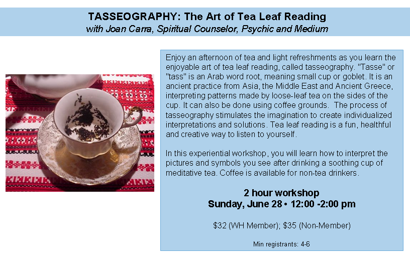 Tasseography The Art Of Tea Leaf Reading Greenwich Magazine