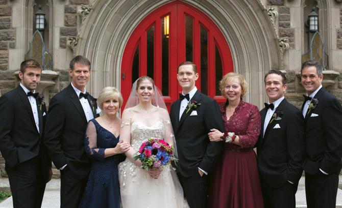 Matt Lonski, Dr. Mike Lonski, Dr. Evelyn Llewellyn, Julia, Allan, Helayne McDonnell, Dan and Michael McDonnell