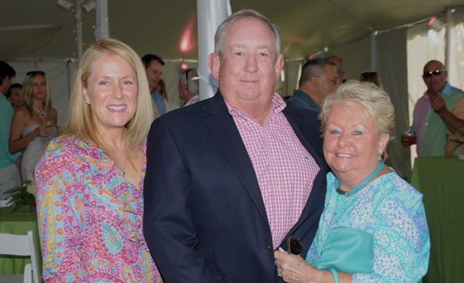 Diane Long, David Tobin, Kathy Tobin