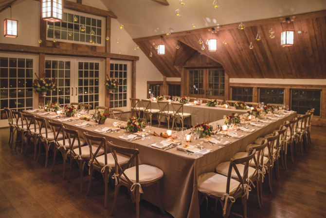 The dinner reception