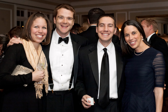 Stephanie and Austin Lehn, Marshall and Stephanie Spooner