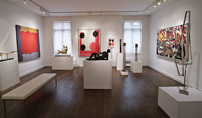 New York state of mind : The new Taylor–Graham  gallery
