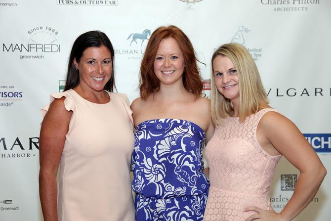 Family Centers:  Jennifer Flatow, Aleksa Lazarewicz-Anstey, Kara O'Connor — Photograph: Kristin Hynes