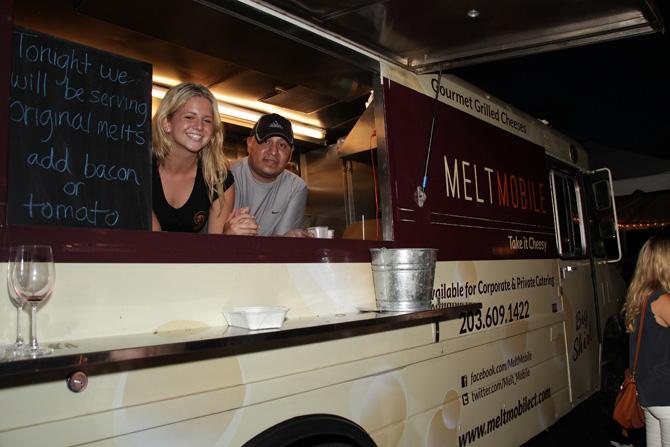 Melt Mobile:  Maddie DiNucci, Antonio Laccano — Photograph: Kristin Hynes
