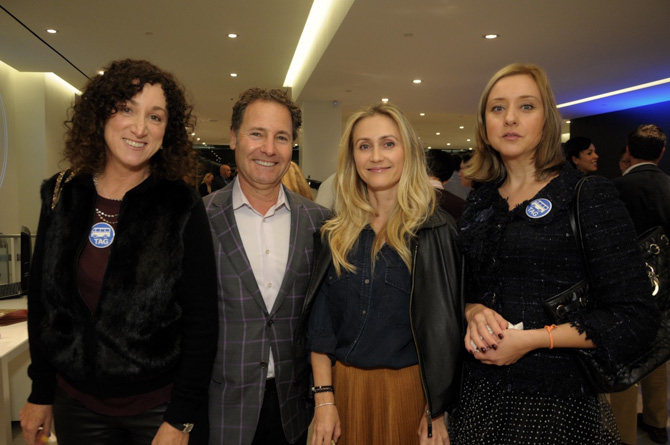Jill Granoff, Rich Granoff, Regina Kudoyarova, Kate Kolotova