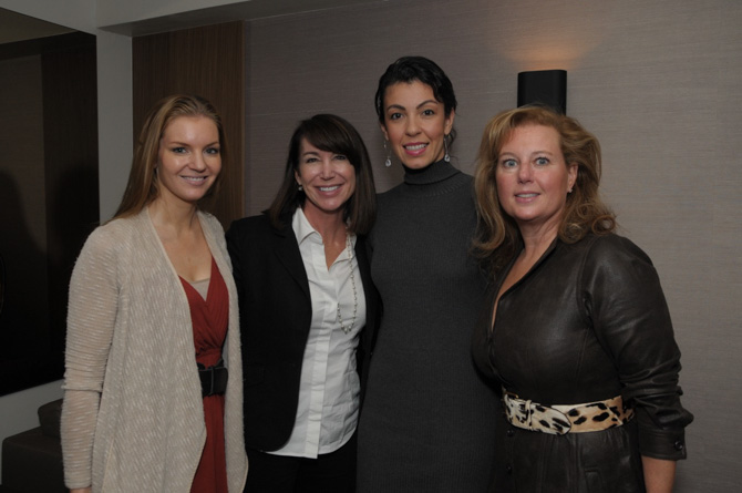 Hilary Cox, Beth Griffin, Sarah Bamford, Aileen Murphy