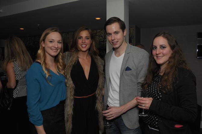 Shannon Hicks, Deana Montefuscoli, Kyle Fisher, Cynthia Flood